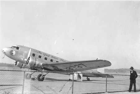 Eastern Airlines DC-2 at Birmingham, AL